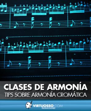 Clases de armonía cromática
