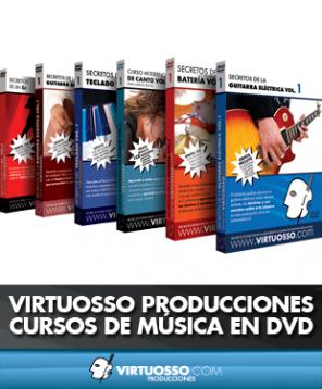 Virtuosso Producciones cursos de música DVD