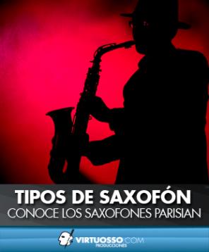 Tipos de saxofón saxofones parisian
