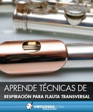 Técnicas de respiración flauta transversal