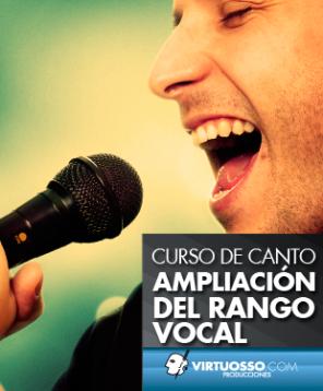 Curso de canto ampliación del rango vocal