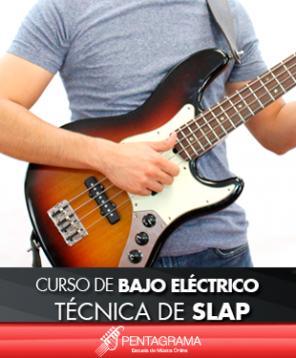 Curso de bajo electrico tecnica de slap