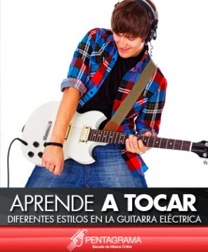 Diferentes etilos en la guitarra electrica