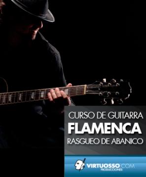 curso de guitarra flamenca rasgueo de abanico