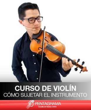 como-sujetar-el-violin
