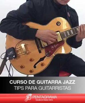 como tocar jazz en la guitarra