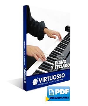Libro digital para piano y teclado
