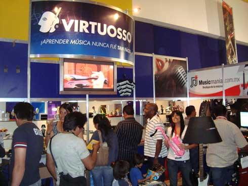 Stand de Virtuosso Producciones
