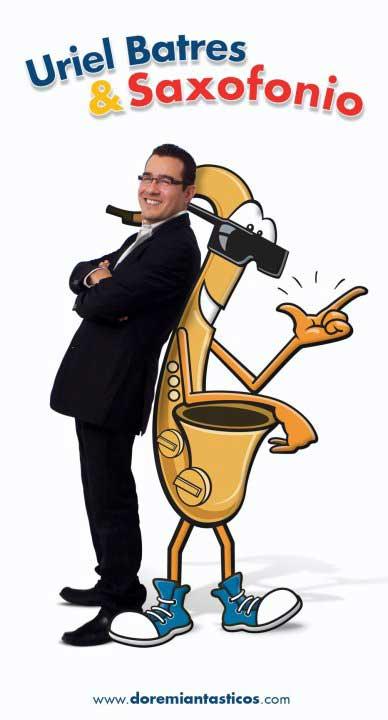 Uriel Batres y Saxofonio