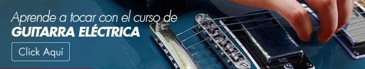 Curso de guitarra eléctrica