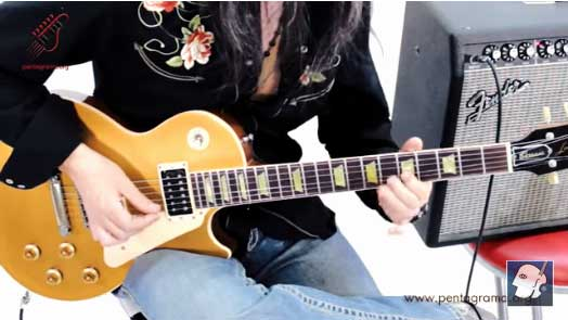 ligados en la guitarra, legato