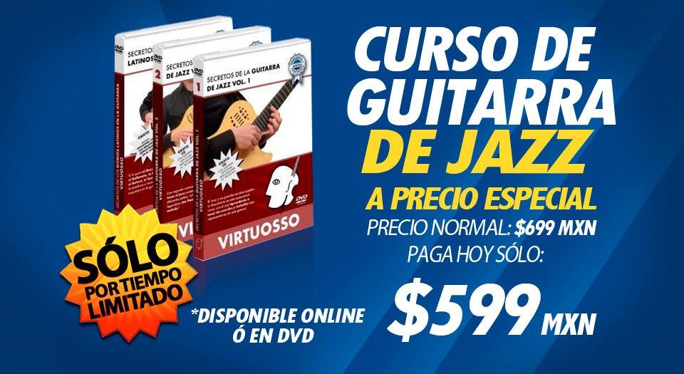 Curso de guitarra de jazz